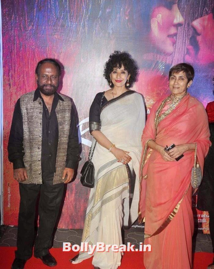 Ketan Mehta, Manisha Koirala, Deepa Sahi, Photos from 'Rang Rasiya' Premier