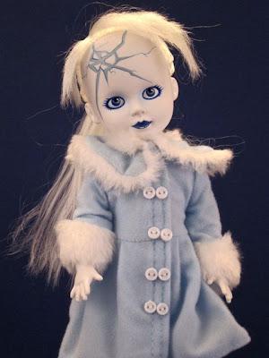 Living Dead Dolls Frozen Charlotte Art Print