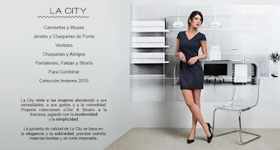 Ropa mujer La City