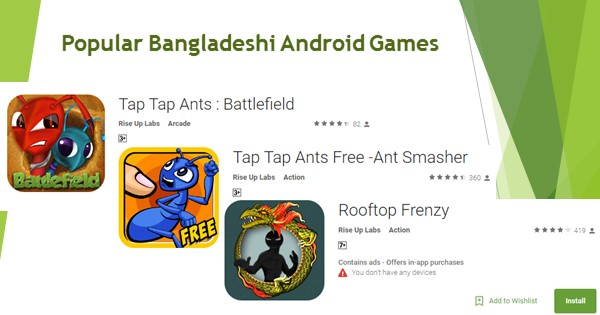 Popular Bangladeshi Android Games