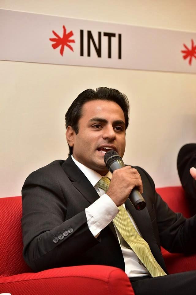 Mr Rohit Sharma, CEO of INTI