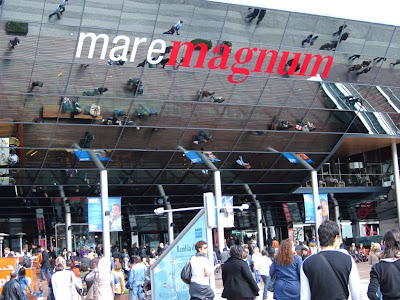 Maremagnum shopping mall in Barcelona