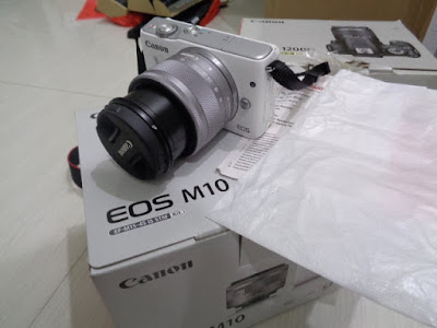 Mirrorless Canon Eos M10 18,0 MP + kit EF-M15-45 IS STM