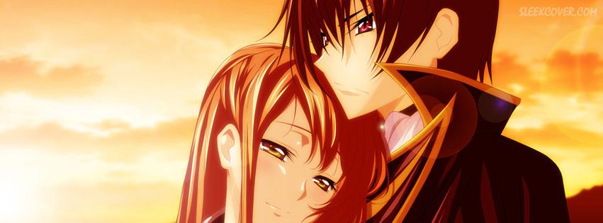 """""""Trầm trồ"""" bộ ảnh bìa Anime Facebook tình yêu cực kute"""