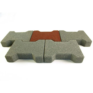 Greatmats Dog Bone Barn Aisle Pavers