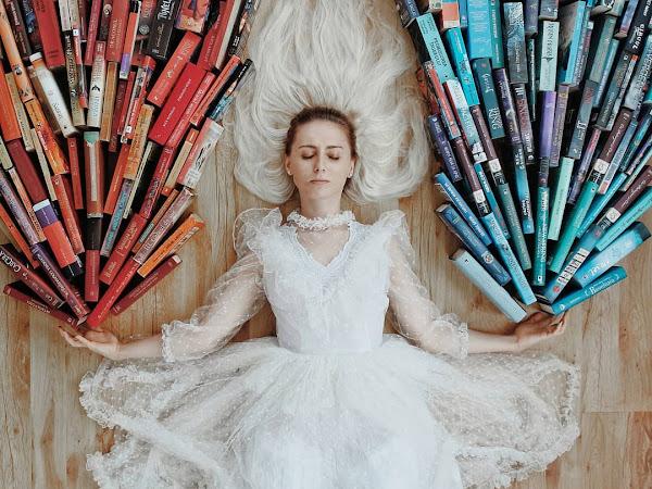 Livros e arte: Elizabeth Sagan