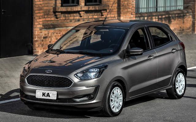 Ford Ka 2019 - 3º carro mais vendido do Brasil