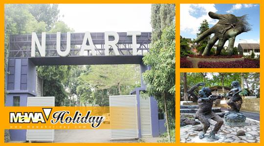 Paket Wisata Artistik Unik Bandung NuArt Sculpture Park