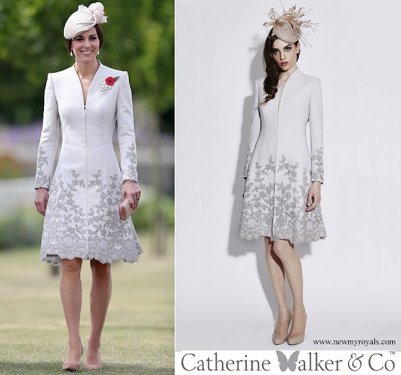 Kate Middleton wore Catherine Walker Melrose Coatdress
