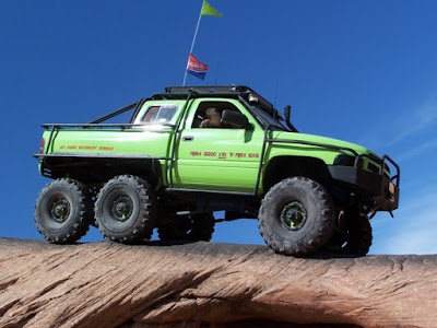 dodge ram off road - 6x6 - dodge suv