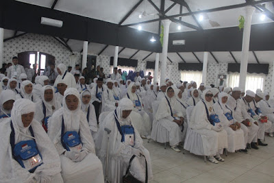 Walikota Tanjungbalai Lepas Keberangkatan Calon Jamaah Haji