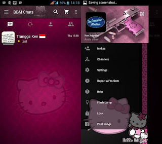 BBM Mod Pink Hello Kitty Based 3.1.0.13