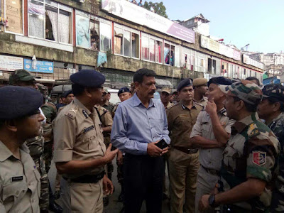 Director-general of police Surajit Kar Purkayastha in Darjeeling