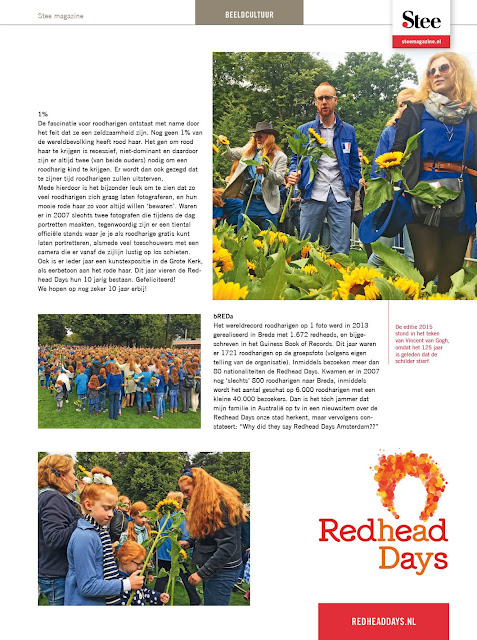 Roodharigendag bREDa - Redheaddays, the Netherlands