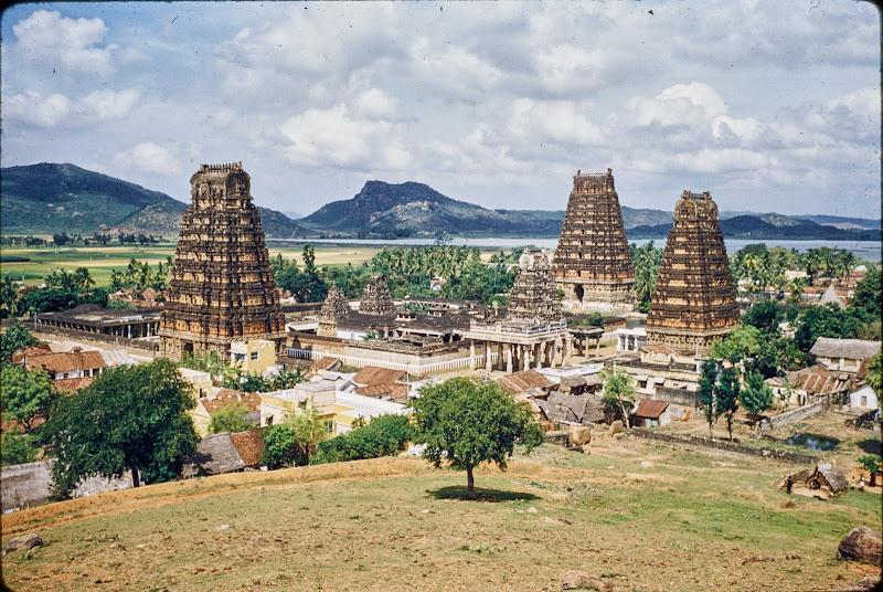 Temples at Tirukkalikkunram, Tamil Nadu - c1950-60's
