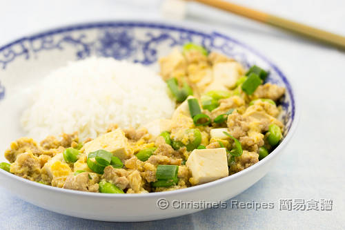 豆腐豬肉碎滑蛋飯 Pork Mince Tofu and Egg Rice02