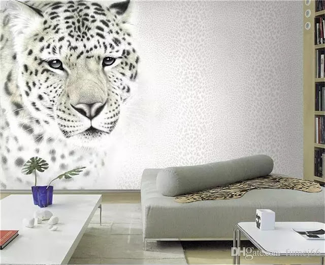 ورق جدران 3d صورة نمر