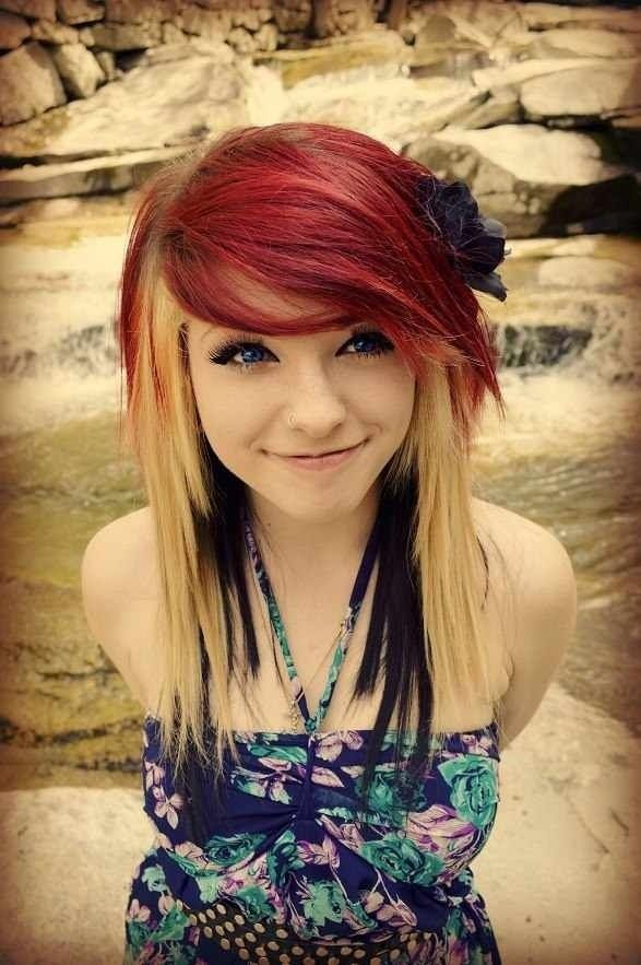 64 Interesting Emo Hairstyles For Girls Hairstylo