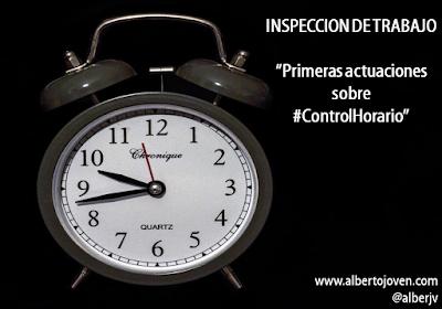 El Control Horario y el Registro de Jornada. #HorasExtras