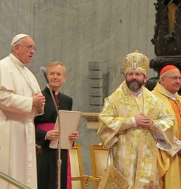 O rito greco-católico (na foto seu arcebispo-mor D. Sviatoslav Shevchuk) está determinado a continuar inabalavelmente unido a Roma quaisquer sejam as adversidades.