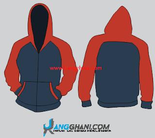 Kumpulan Desain Jaket Polos Keren (Bonus File Corel Draw)