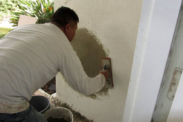 Stucco Patches
