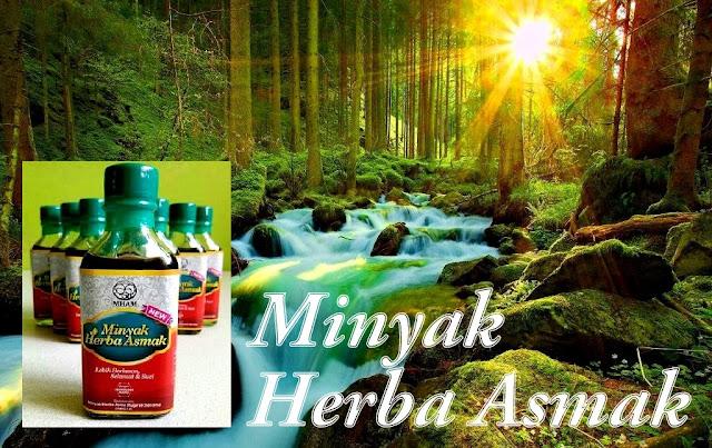 Minyak Herba Asmak Penawar Penyakit Asma