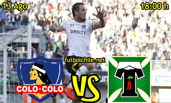 Ver stream hd youtube facebook movil android ios iphone table ipad windows mac linux resultado en vivo, online: Colo Colo vs Deportes Temuco