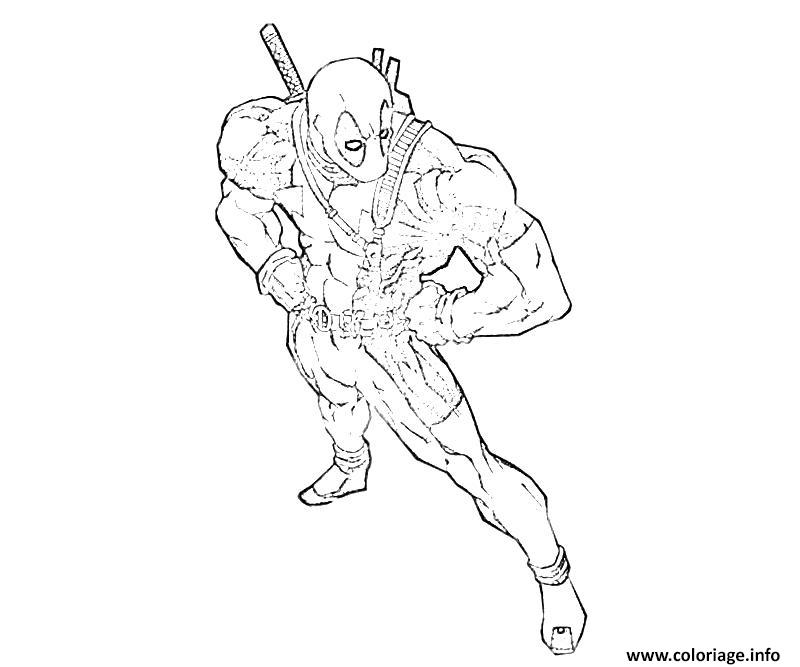 image deadpool dessin