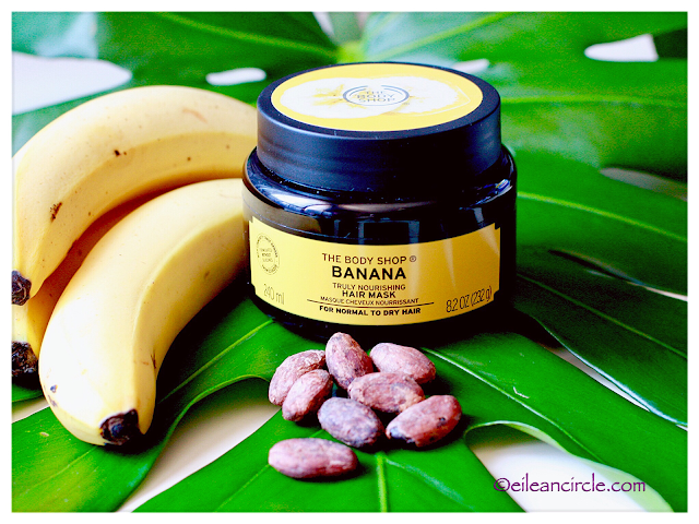 hair care, banana hair mask, the body shop, mascarilla capilar