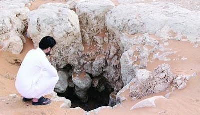 Foto Sumur yang Dibangun Jin Saat Nabi Sulaiman Berkuasa