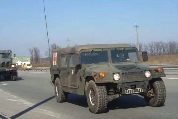 HMMWV M1097A2 3308 Р1