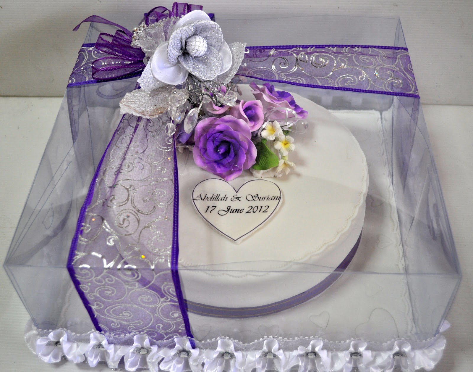 halal wedding cake singapore izah s kitchen hantaran engagement cake 15036