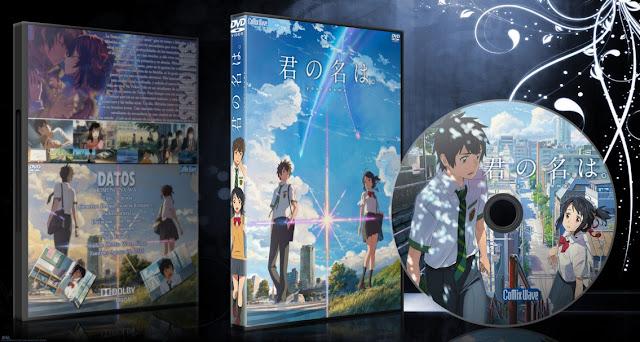Kimi no Na wa.  Cover DVD   MEGA  