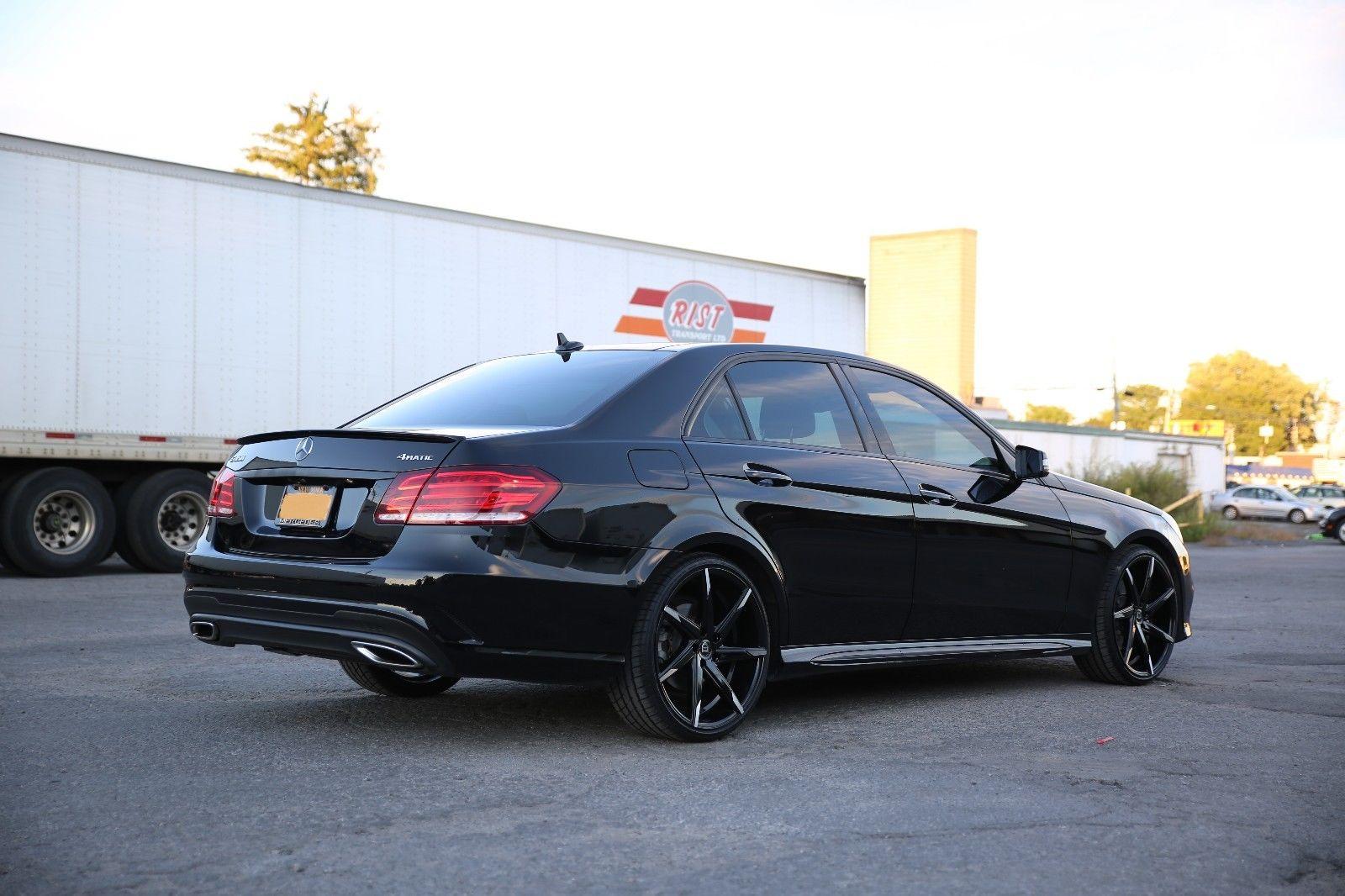 2014 mercedes benz w212 facelift e350 black on black. Black Bedroom Furniture Sets. Home Design Ideas