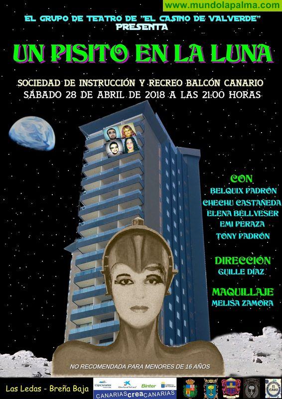 """BREÑA BAJA: Teatro """"Un Pisito en La Luna"""""""