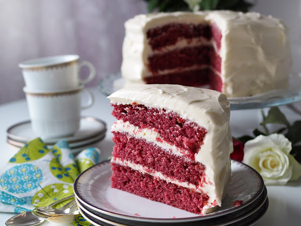 Red Velvet -kakku rakkaalleni