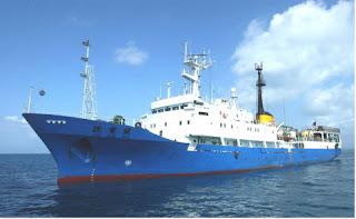 Entrega de tres buques de investigación geológica marina