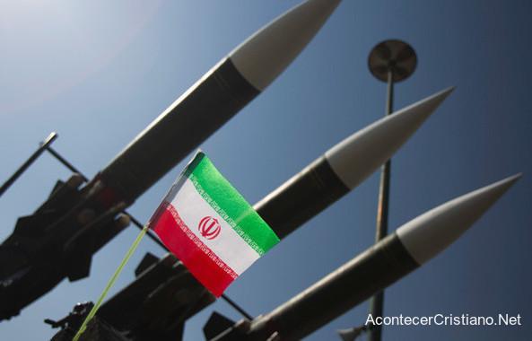 Misiles iraníes contra Israel