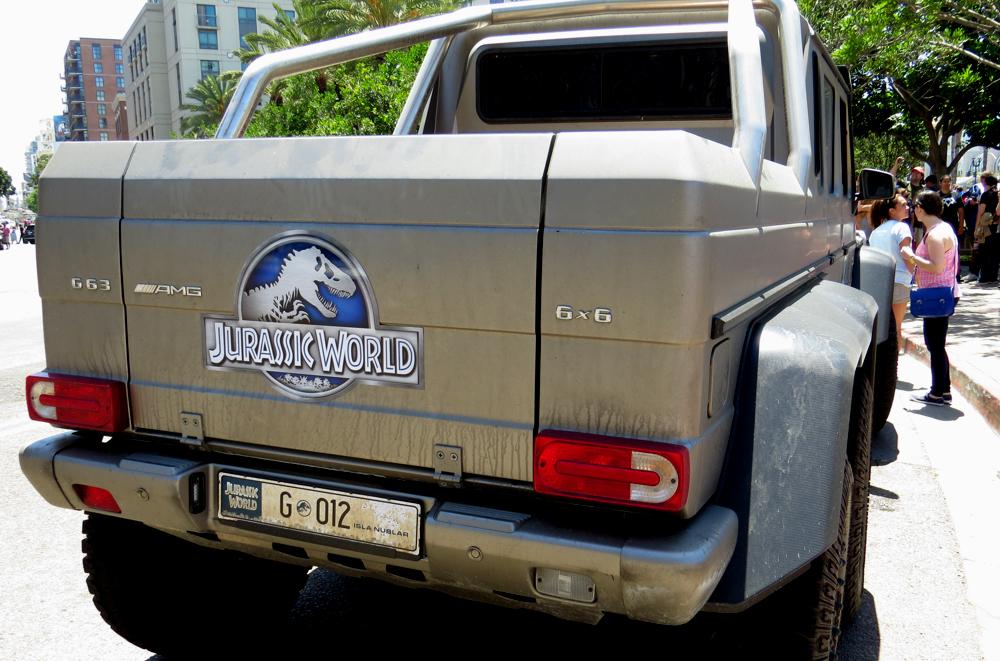 Maşinile folosite la filmările din Jurassic World