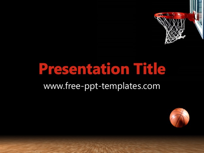 Basketball PPT Template - basketball powerpoint template