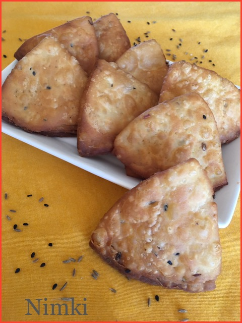 Nimki ~~ Bengali Savory Snack