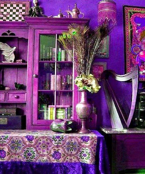Chata nieinspirowana poczekalnią luksusowego gabinetu stomatologicznego :)