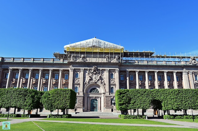 Parlamento de Estocolmo (Riksdagshuset)
