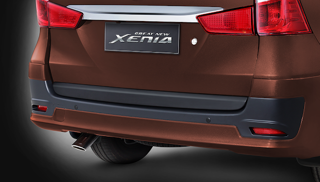 Bumper Belakang Great New Xenia