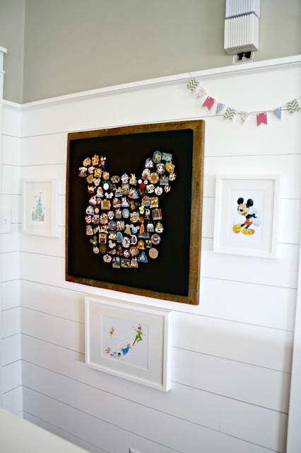 DIY Disney pin art