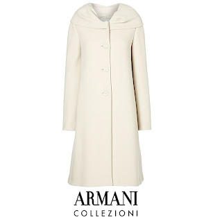 Kate Middleton Wore - Armani Collezioni Collar Coat