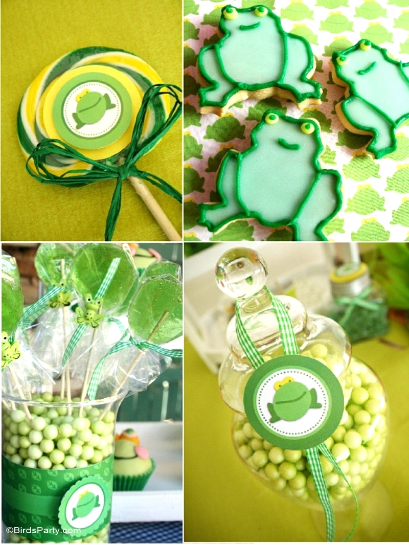My Kids Joint Butterfly Frog Garden Birthday Party Party Ideas