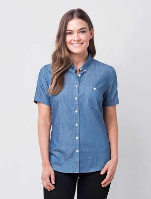 Classy-and-stylish-casual-short-sleeve-shirts-for-women-2