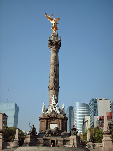 Angel de la Independencia. Ciudad de Mexico